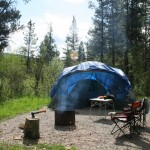 Gregg Lake campground William A Switzer Park Alberta