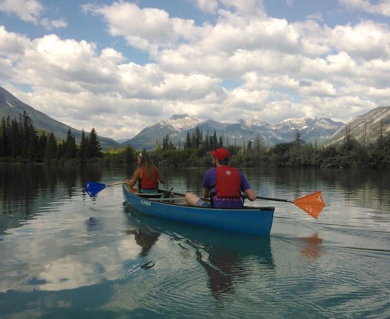 Bow River Paddling Alberta