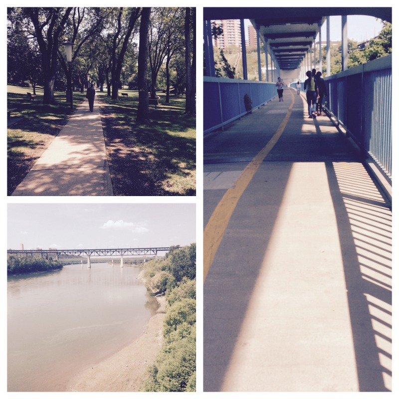 Walking trails in Edmonton Alberta