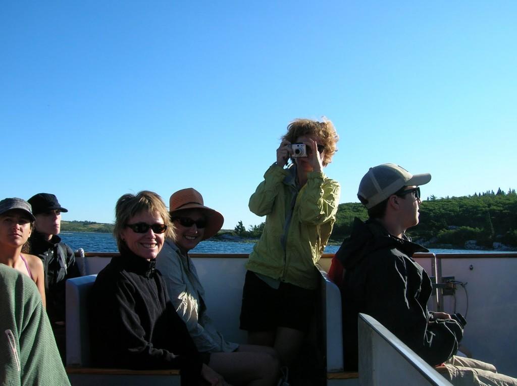 early morning boat ride across Waterton Lake