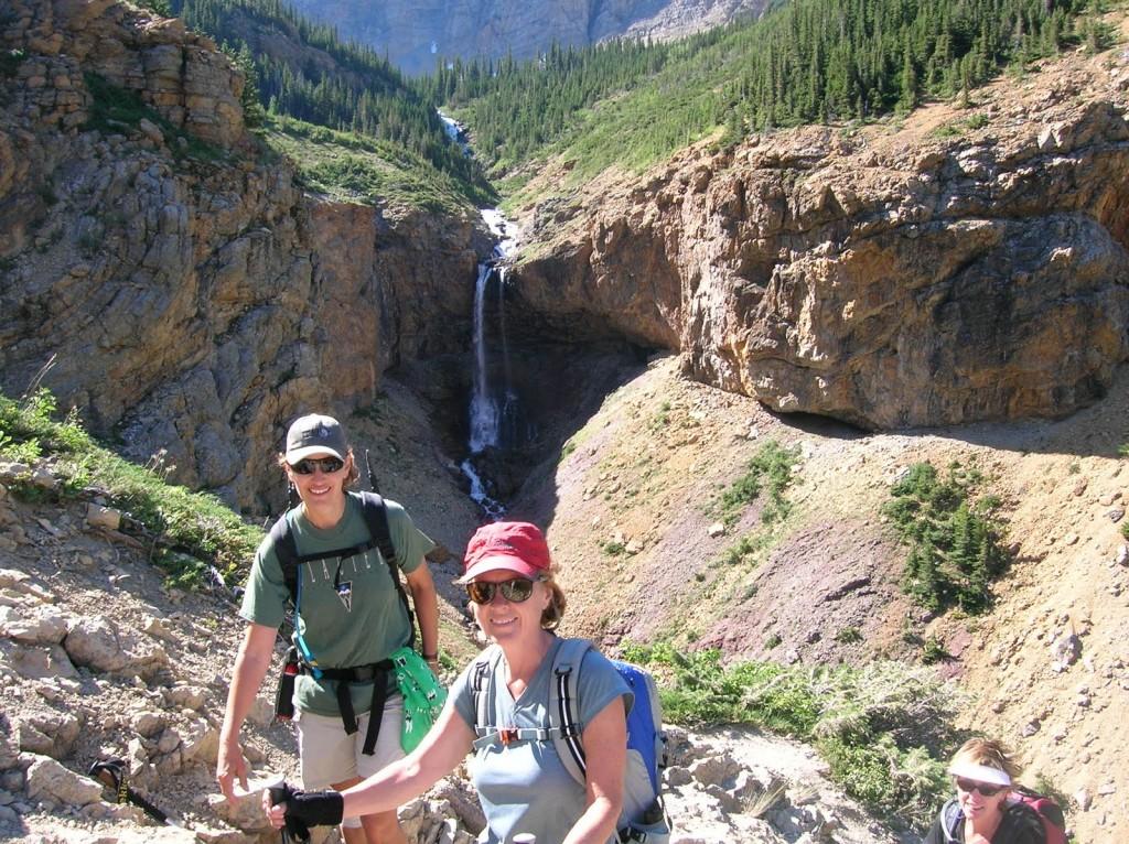 Hiking Crypt Lake Trail Waterton