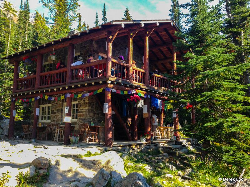 Hiking to Plain of Six Glaciers Tea House Lake Louise