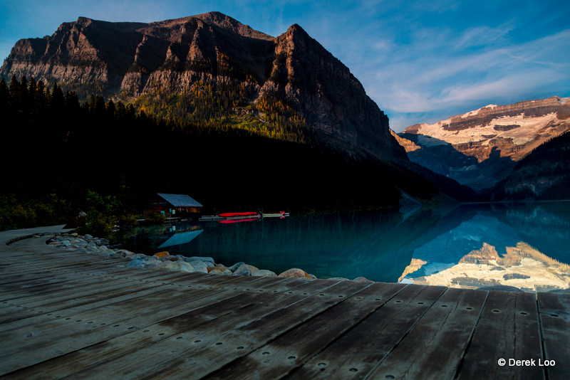 View of Lake Louise from Fairmont Chateau Alberta