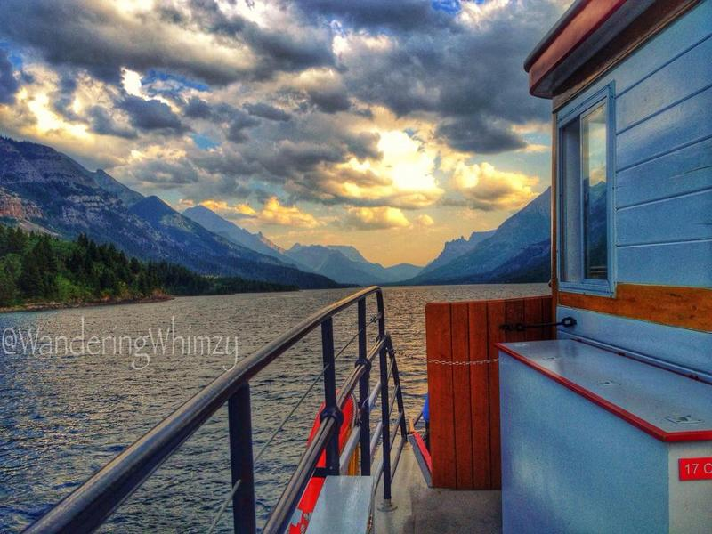The International is a cruise boat that takes you down Waterton Lake to Goat Haunt, USA for a short visit. It's a very nice cruise that takes about two hours.