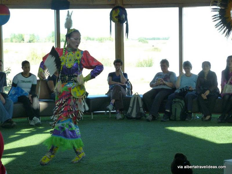 first nations dance at Wanuskewin Heritage Park, Alberta