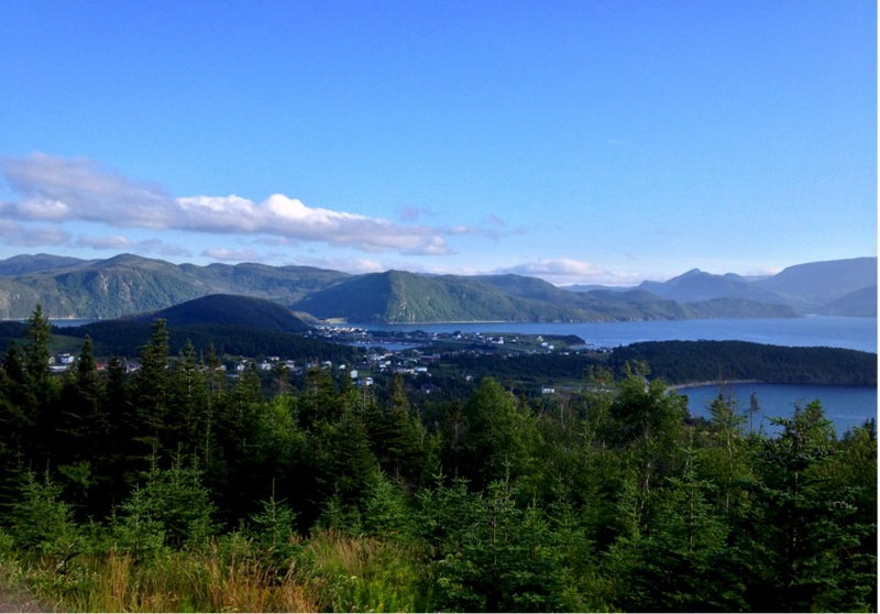 View from the 'Lookoff' point - Gros Morne