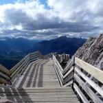 Hiking the Sulphur Mountain at Banff National Park