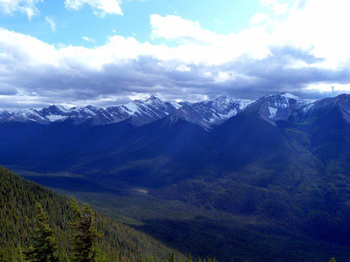 Hiking the Sulphur Mountain at Banff National Park (12)