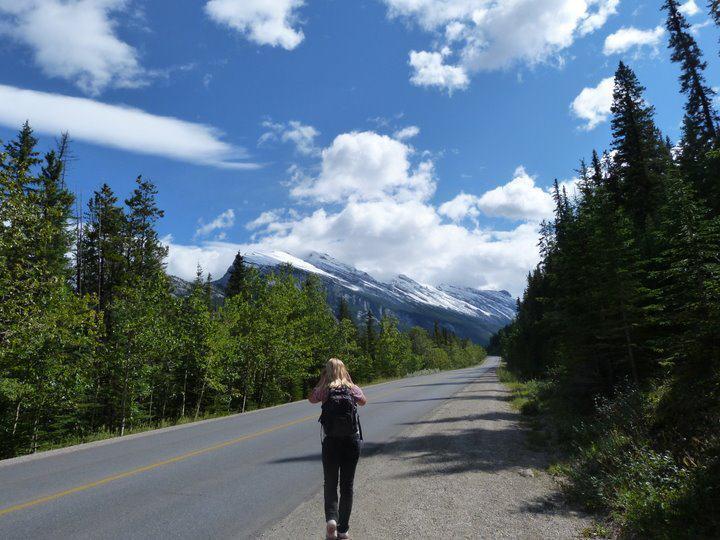 Hiking the Sulphur Mountain at Banff National Park (2)