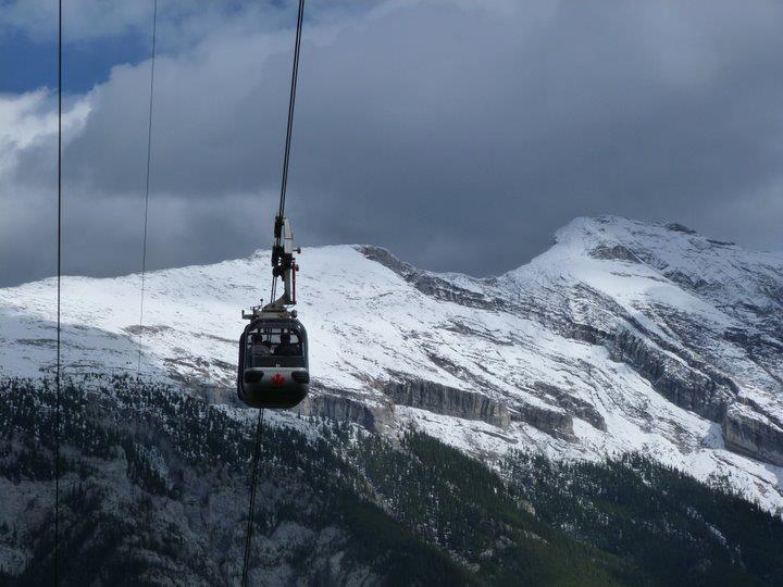 Hiking the Sulphur Mountain at Banff National Park (6)