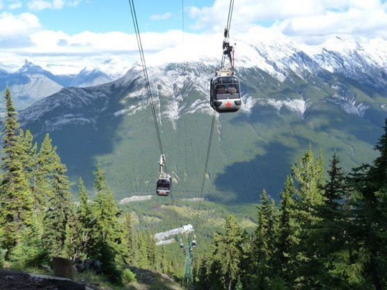 Hiking the Sulphur Mountain at Banff National Park (7)