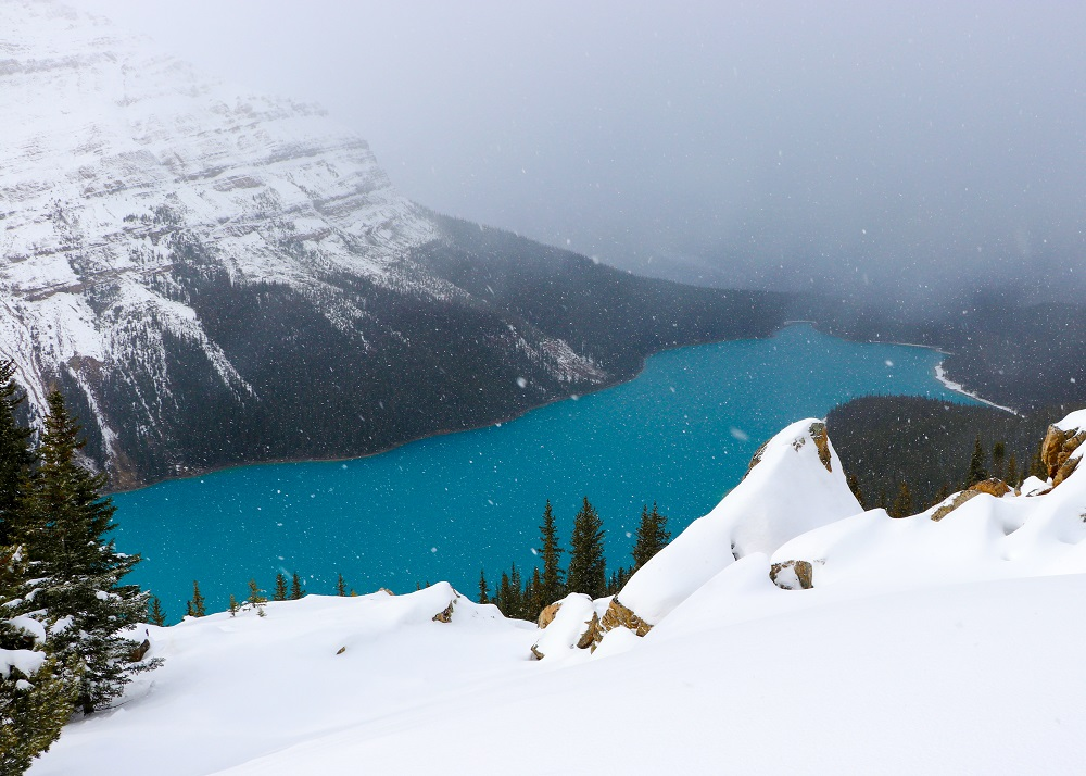 winter-hike-to-peyto-lake-lookout
