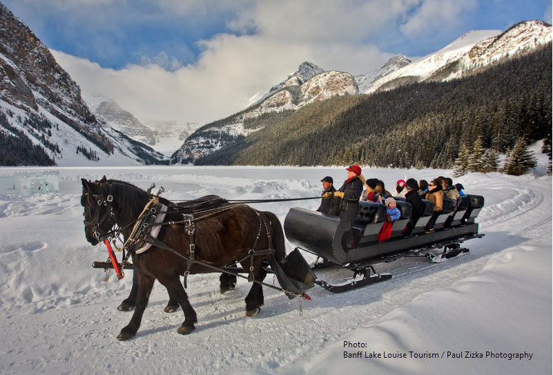 Things To See And Do In Lake Louise In Winter
