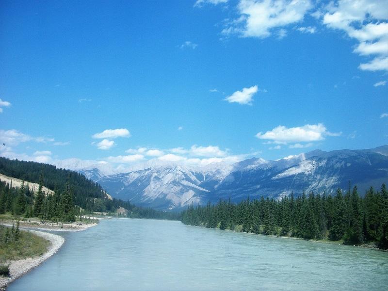 Lake Beauvert Alberta